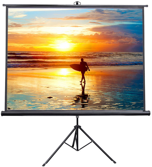 Tripod Projector Screen 180cm x 180cm --SP-TP180