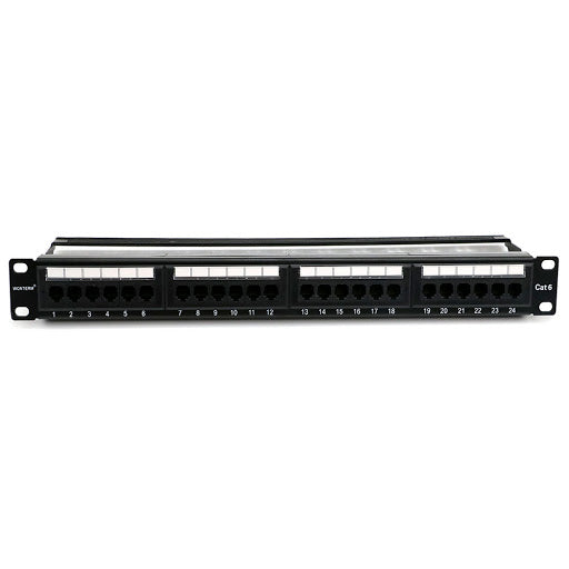 Patch Panel UTP Cat6 24 Port, Pass Fluke (PP2406)