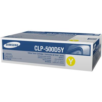 Samsung CLP500D5Y  Yellow Laser Toner Cartridge