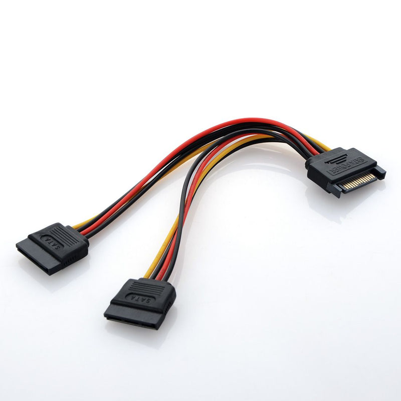 Cable Splitter Sata Power Cable for 2 HDD (WSP2)