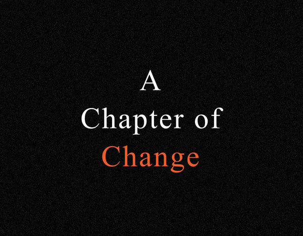 A Chapter of Change