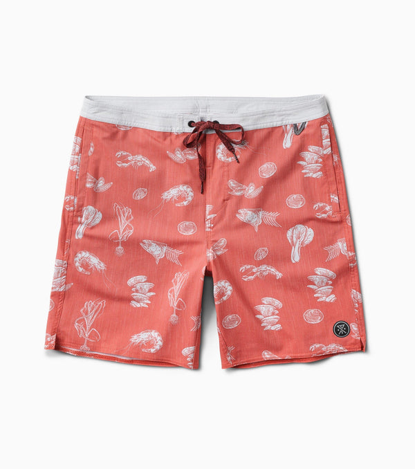 Chiller Seafood Stew Boardshorts 17""