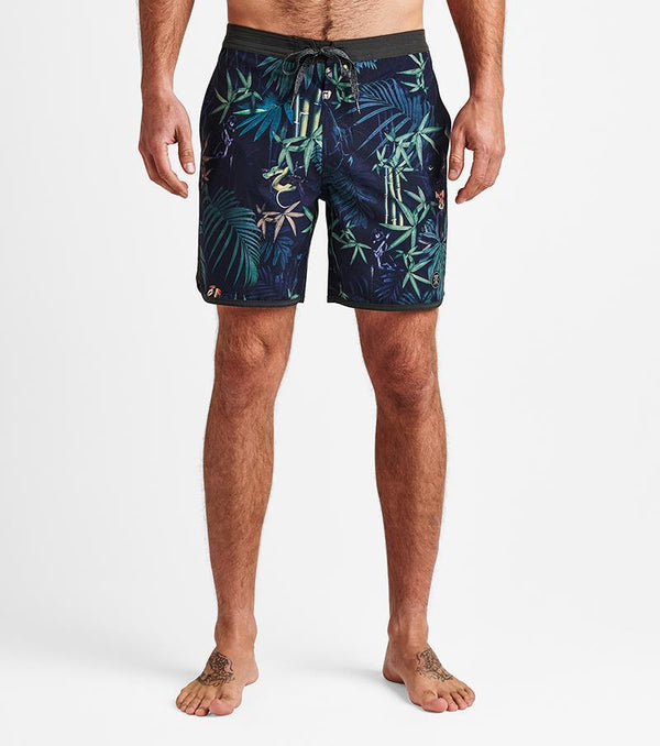 Chiller Jungle Attack Boardshorts 17""