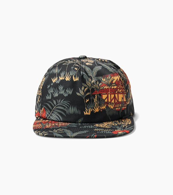 Jungle Hut Strapback Hat