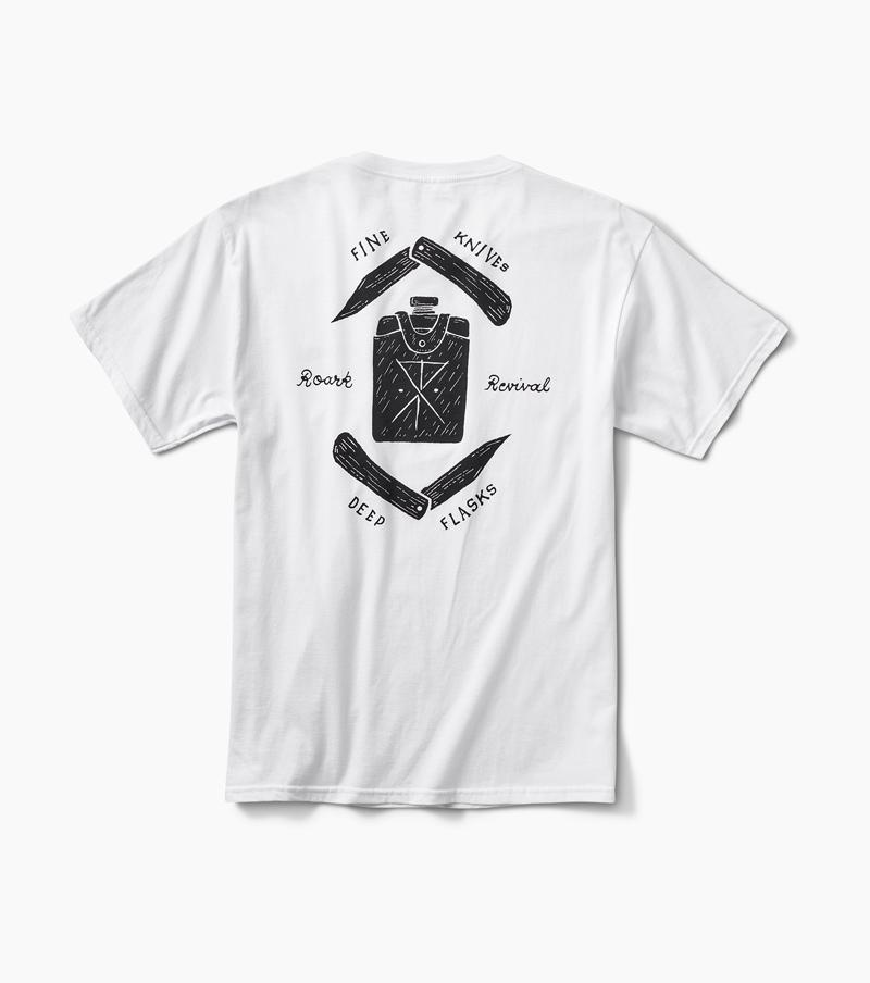 Fine Knives Deep Flasks Staple Tee