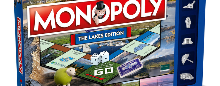 Romney's feature in Lake District Edition of Monopoly