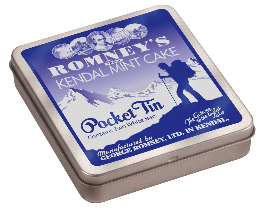 170g Pocket Tin White Kendal Mint Cake