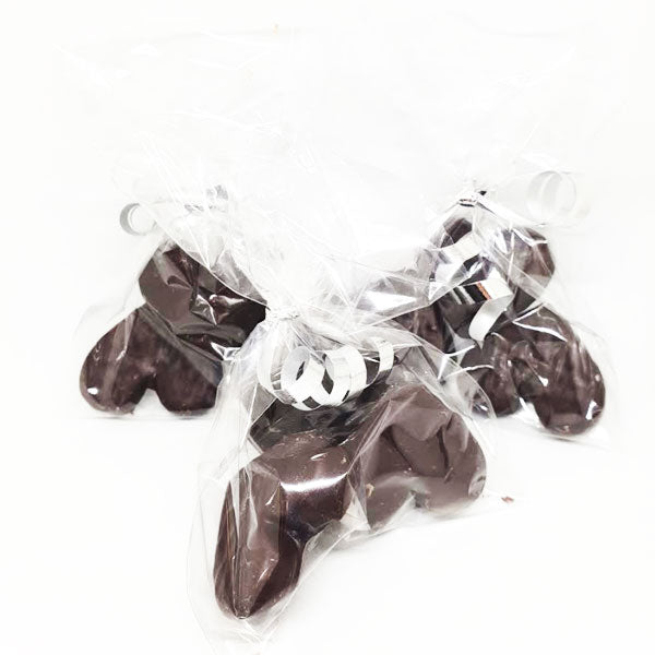 Chocolate Covered Kendal Mint Cake Hearts 3 pack