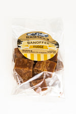 Hand Made Banoffee Butter Fudge 150g Bag (3 pack)