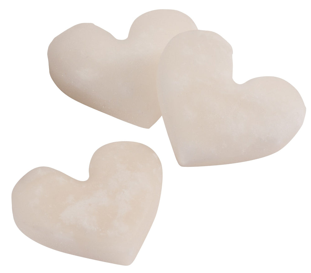 White Kendal Mint Cake Hearts Tin