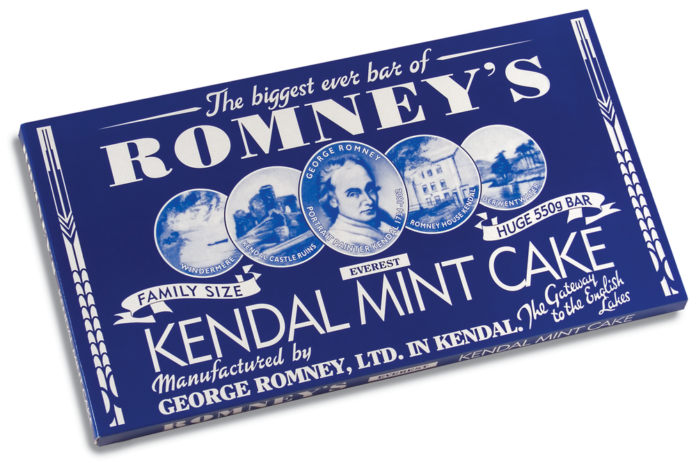 550g Mega Bar White Kendal Mint Cake