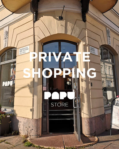 papu store private shopping