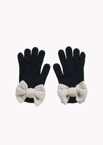 BOW-sormikkaat, Black/ Cream Melange