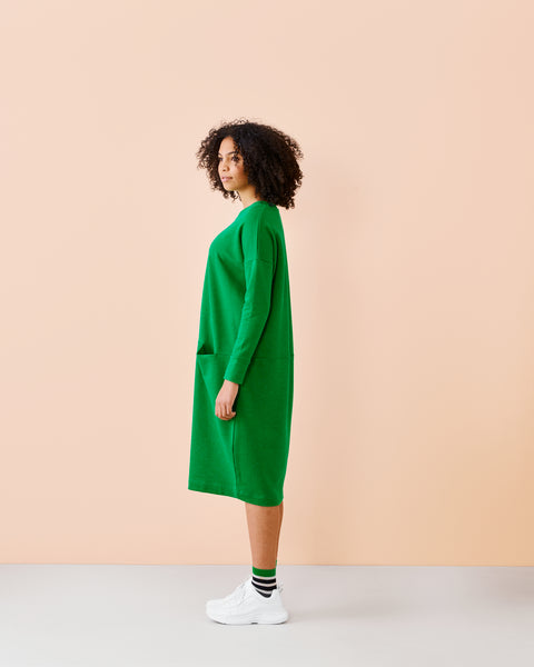 GIANT SPLIT-mekko, Loud Green, naisten