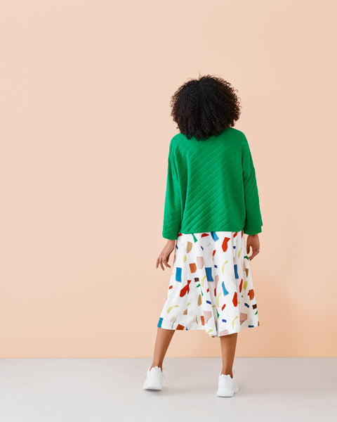 CIRCLE CULOTTES -housut, Major Compose, naisten
