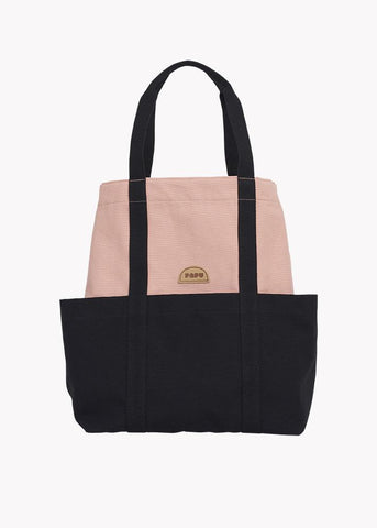 TOTE-laukku, Powder Peach/Black