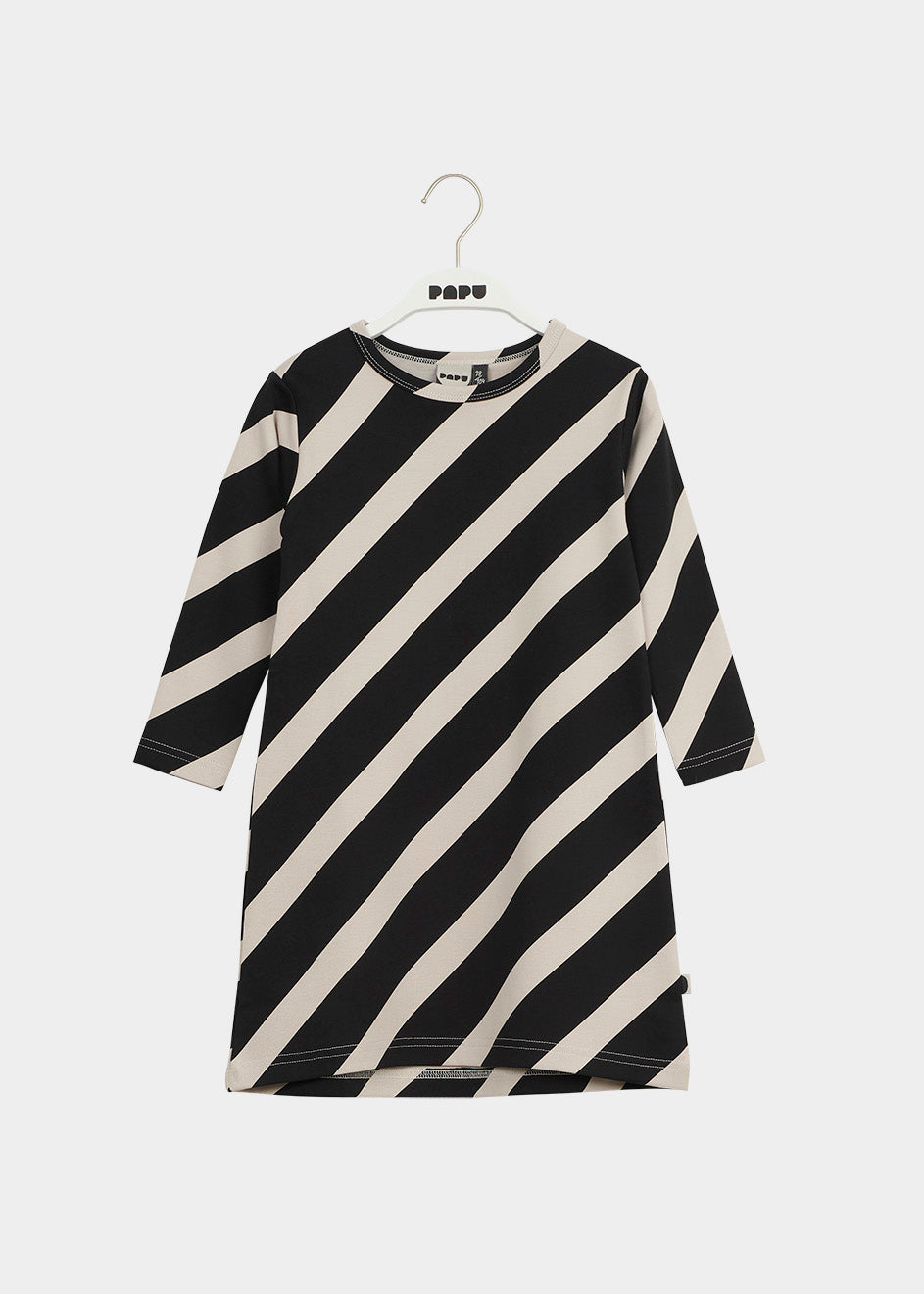 MELLOW-mekko, Huge Stripe, Black/Canvas Grey