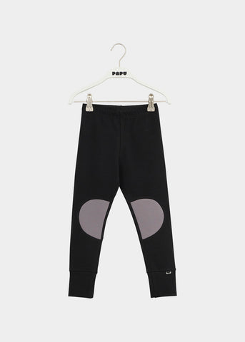 PATCH-leggingsit, Black/Stone Grey