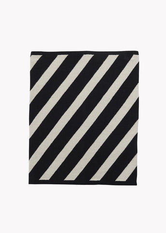 TUBE-huivi, Stripe, Black/Silent Grey