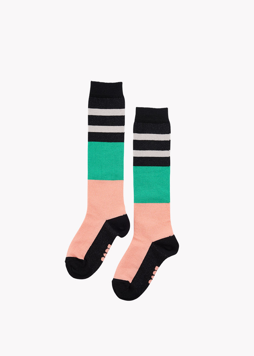 POLVISUKAT, Cantaloupe/Green/Black/Grey