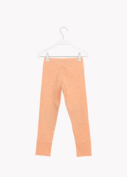 PATCH-leggingsit, Cantaloupe Red/Black