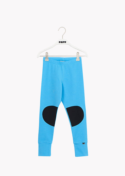 PATCH-leggingsit, Whitened Blue/Black