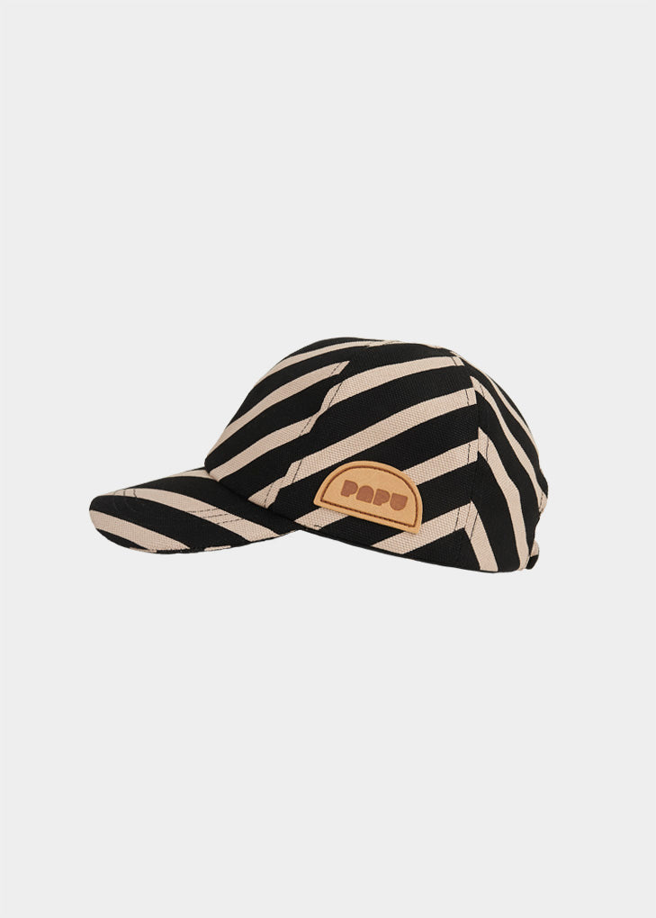 LIPPIS, Diagonal Stripe, Black/Silent Grey, naisten