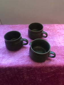 Two Cups & Milk Jug - 7354