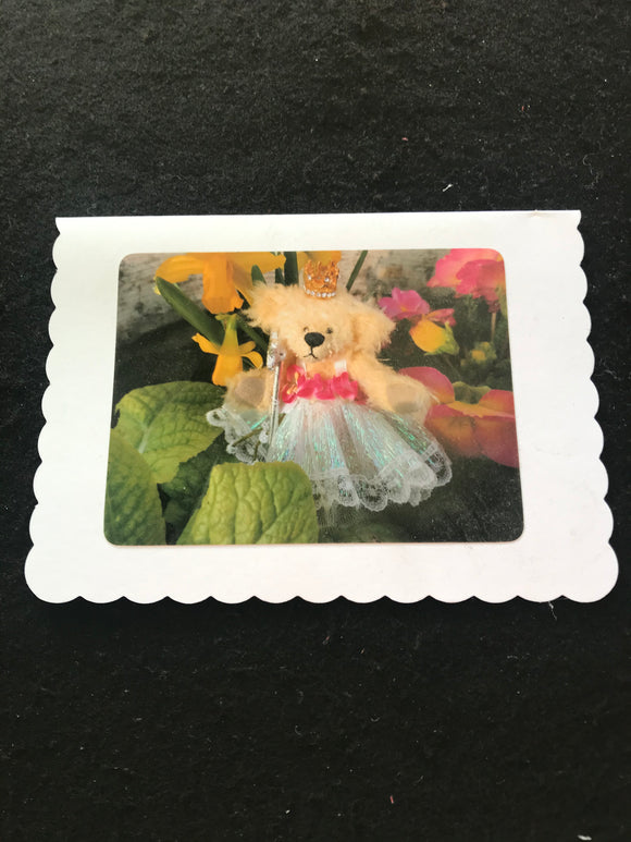 No. 9. Teddy Bear greeting cards, blank for your own message.  Cards by Hardy Bears designer June Kendall