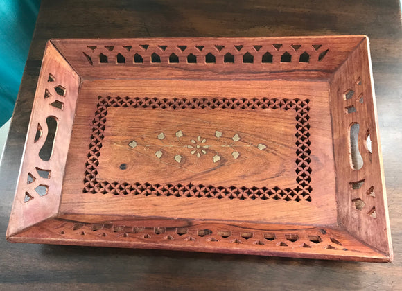 Wooden Tray - 5087