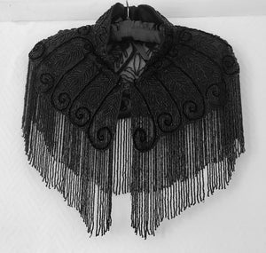 1920's Beaded Shoulder Cape - 7313