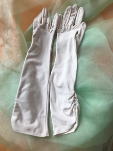 Gloves - Evening Cream Nylon - 7122