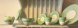 Tea Set - 1950's Dakin Bone China - 6077