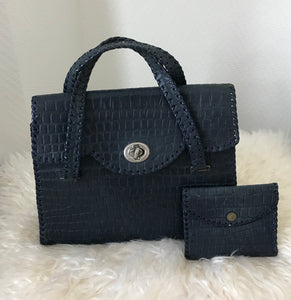 Handbag & Matching Purse - 7078