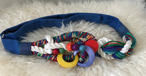 1980's Colourful Belt by Carolyn Tanner - 7131