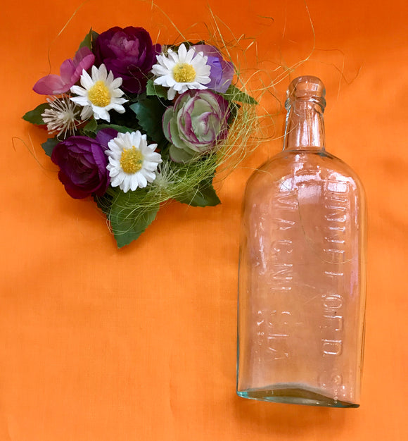 Vintage Glass Bottle (Dinneford Magnesia)- 7127