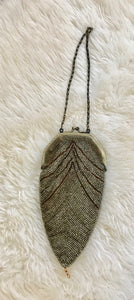 Vintage Beaded  Evening Bag / Purse - 7235