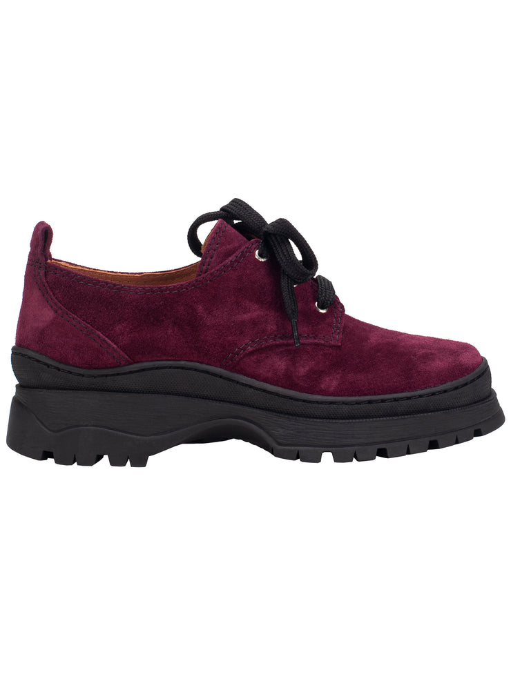 Jesse in Burgundy Suede