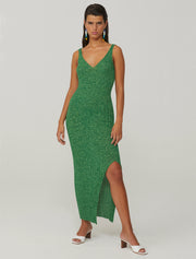 Livin Dress in Intense Green