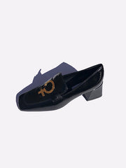 Feminist Loafer in Black