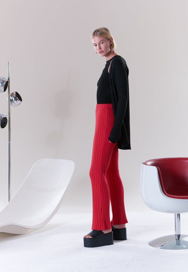 Cyrene Pant in Red