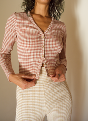 Tenderness Cardigan in Faded Rose
