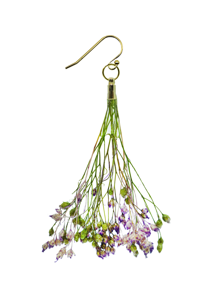Wisteria Mini Bouquet Earrings