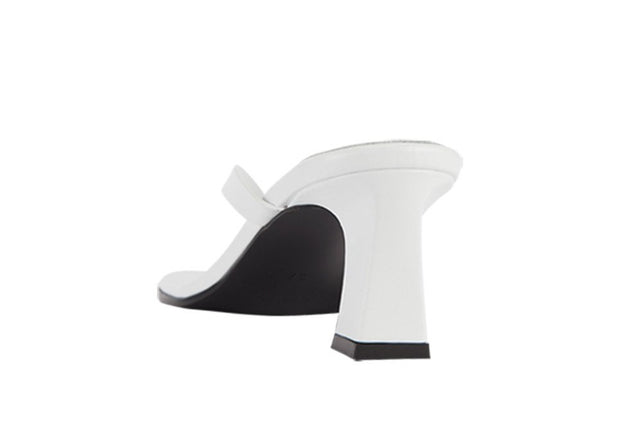 Flip Flop Heel in White