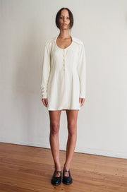 Gabbiani Ivory Dress