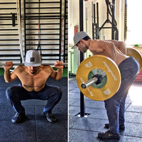 Barbell Strength Training - Squat & Row