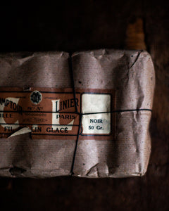 Parcel of old French linen thread