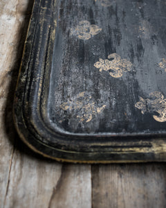 Large distressed Victorian tray