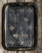 Load image into Gallery viewer, Large distressed Victorian tray