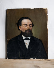 Load image into Gallery viewer, Antique painting of gentleman